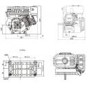 Silnik spalinowy czterosuwowy LC170F
